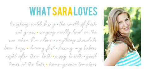 what sara loves