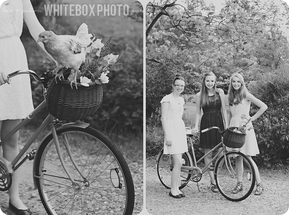 whitebox photo photographer, sara brennan-harrell, photographs a stylized senior model session with a camping theme and a vintage picnic theme.