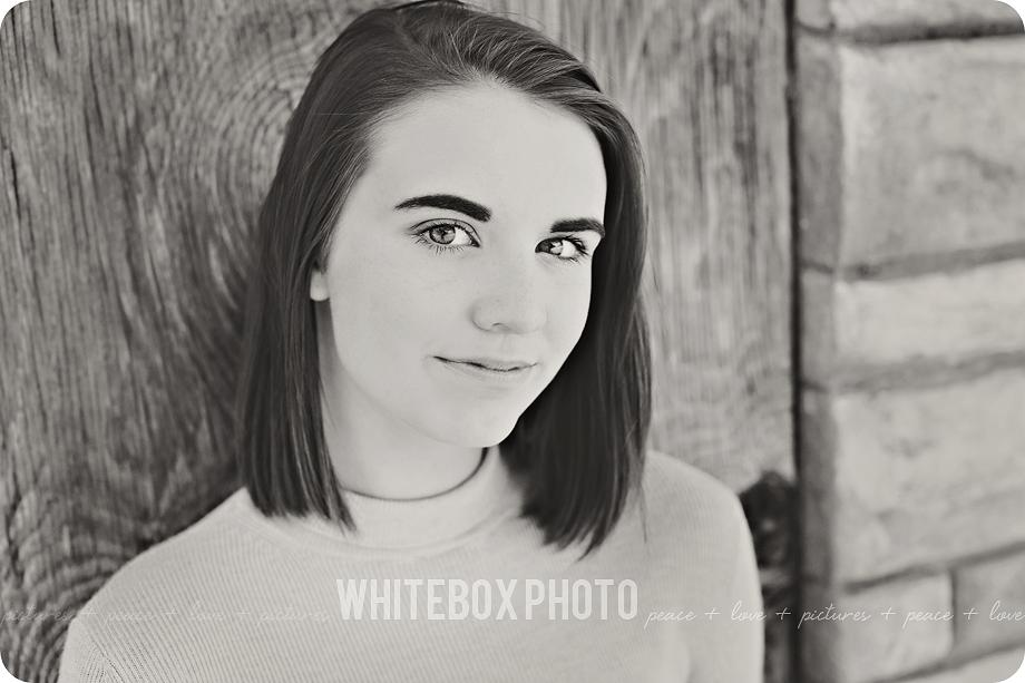 cassie's senior photo session in downtown madison/whitebox photo farm by whitebox photo.