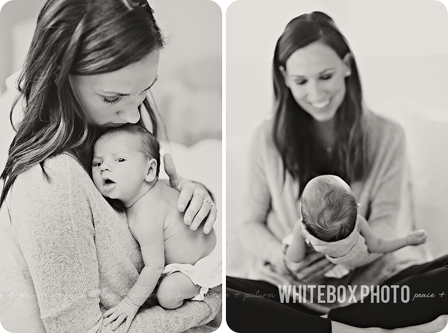 emaline's newborn session in southern pines by whitebox photo.