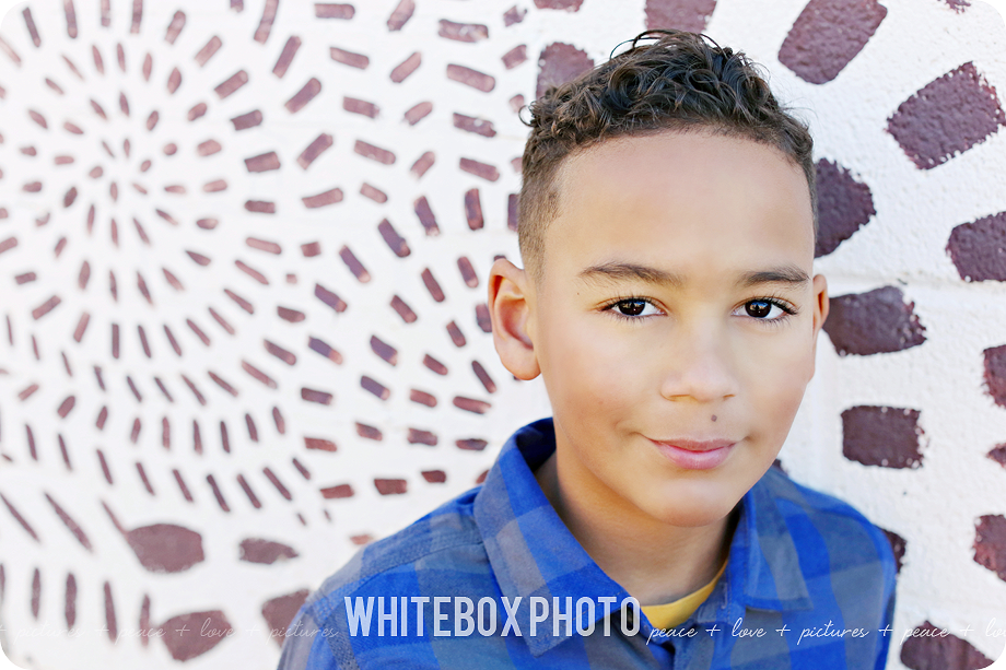 marcus's kid model session in downtown greensboro by whitebox photo in 2016.