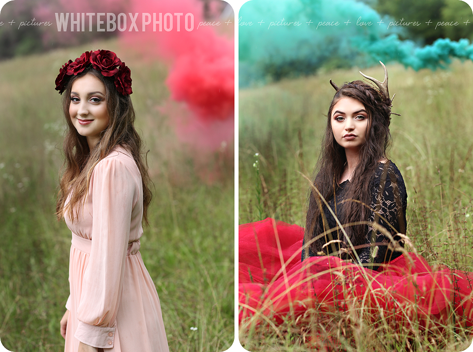 whitebox photo senior model woodland wonderland photoshoot for the class of 2018